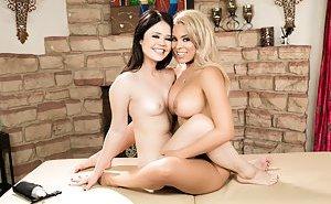 Lesbian tribbing Porn Pics