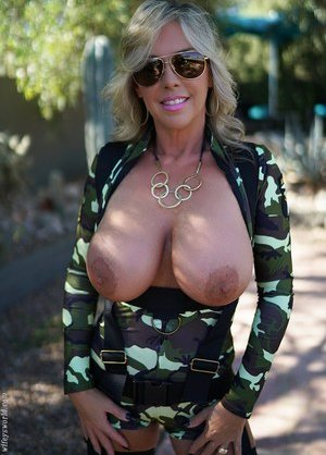 Boobs in Army Porn Pics
