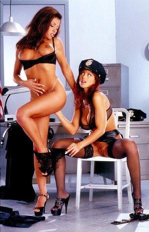 Busty Cops Porn Pics