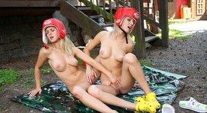 Boobs in Gym Porn Pics