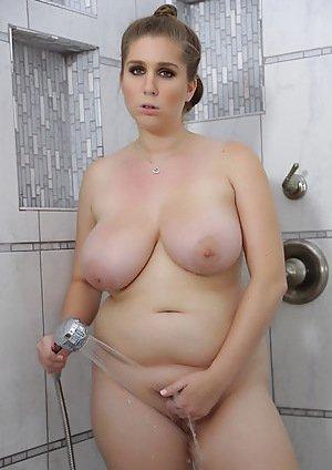 Boobs in Bathroom Porn Pics